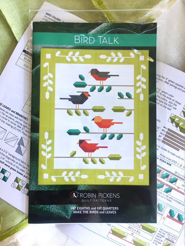 Bird Talk pattern booklet by Robin Pickens with Thatched Basics