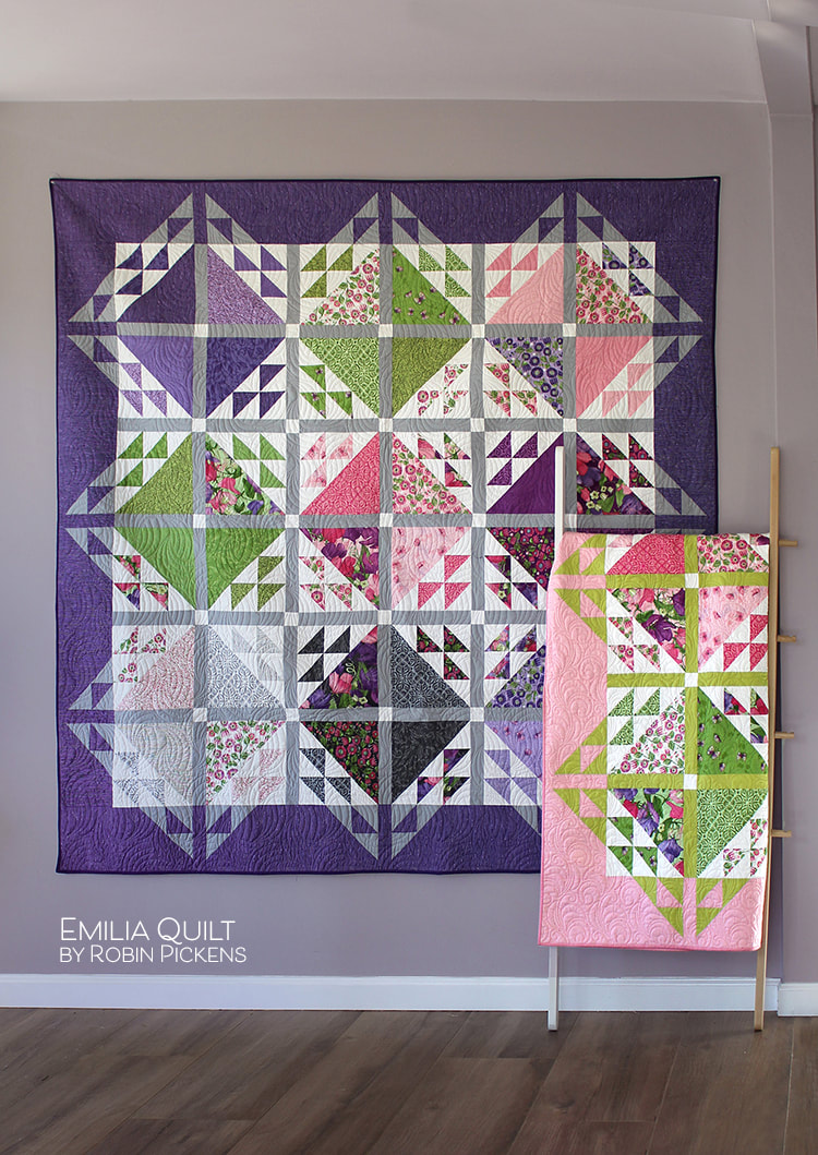 Emilia quilt by Robin Pickens 2 sizes