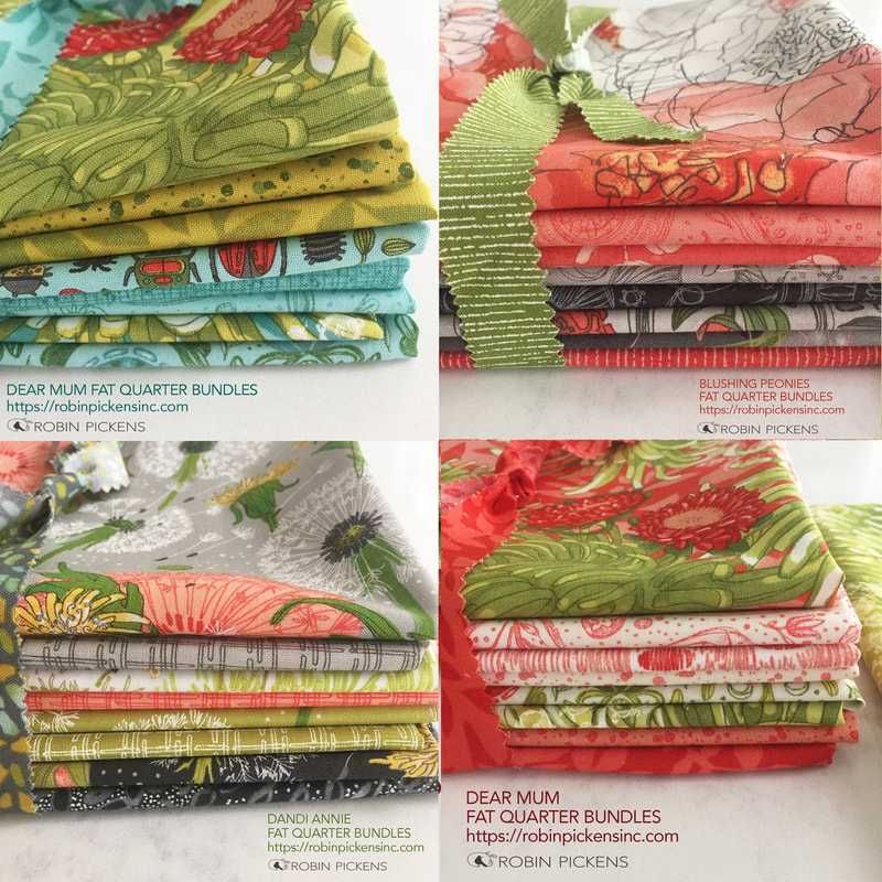 Fat Quarter bundles Robin Pickens Moda Fabrics