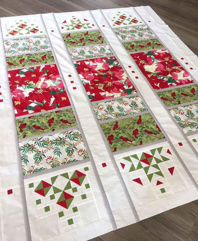 Jubilant Song Quilt Pattern by Robin Pickens