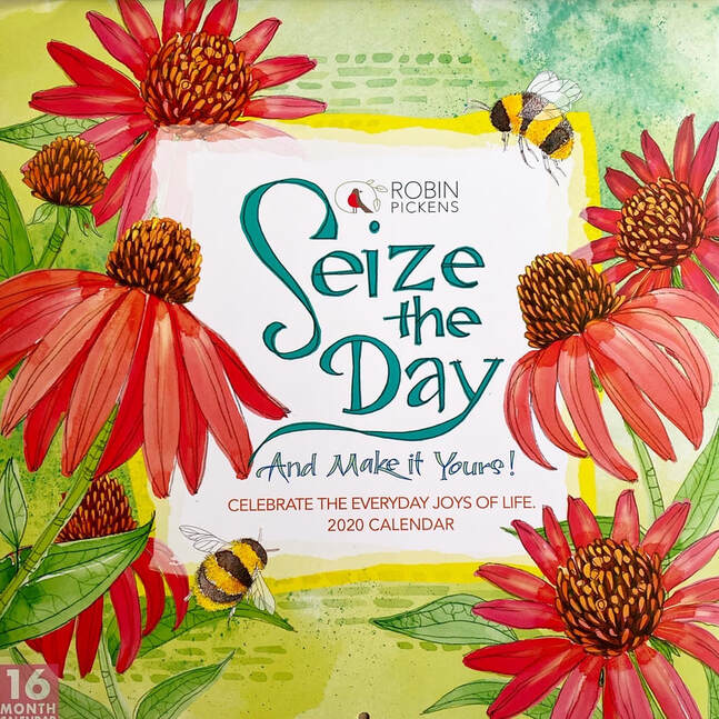 Seize the Day calendar by Robin Pickens for Sellers Publishing