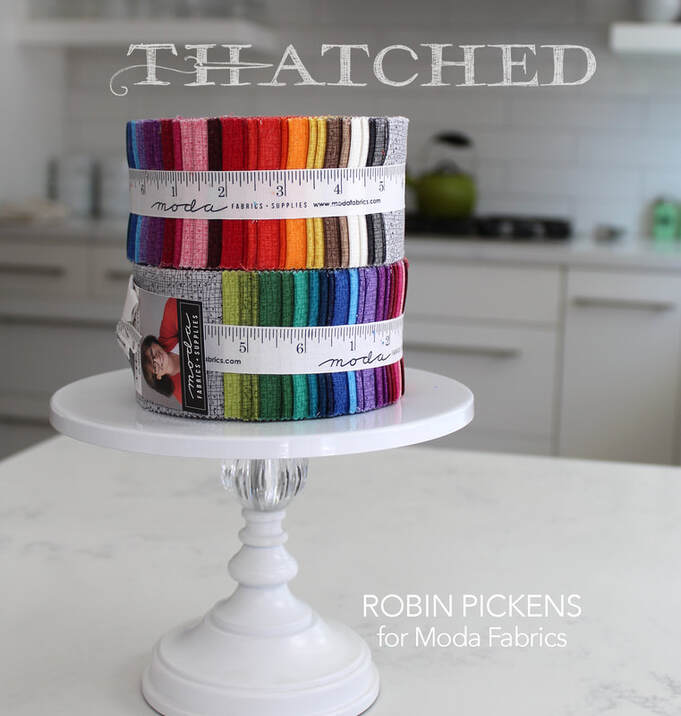 Thatched by Robin Pickens for Moda Jellyrolls