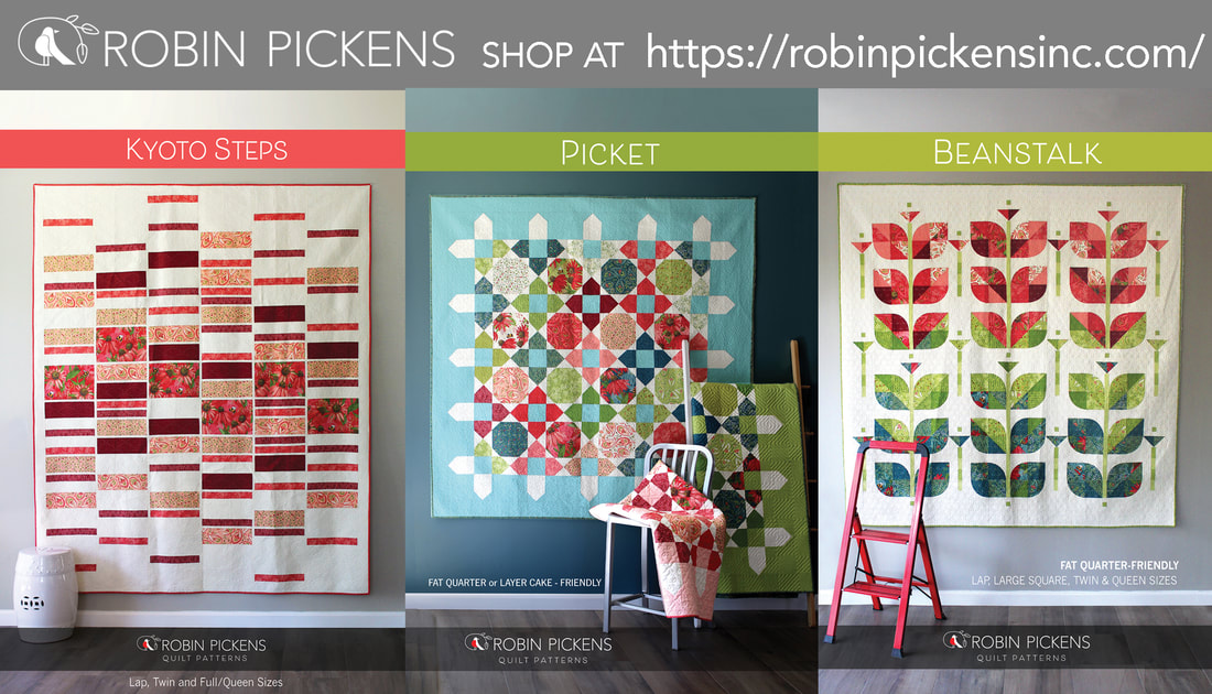 Quilts with Painted Meadow by Robin Pickens for Moda Fabrics