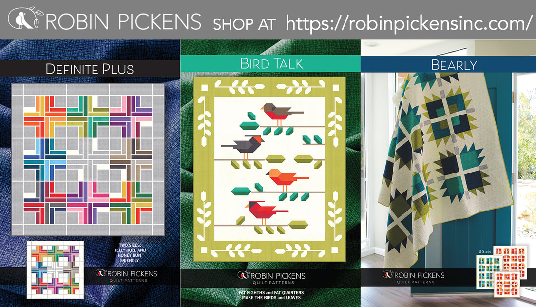 Bird talk and other Thatched patterns from Robin Pickens