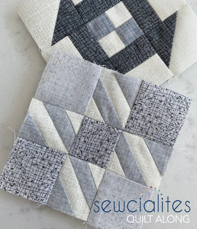 FQS Sewcialites in Thatched grays
