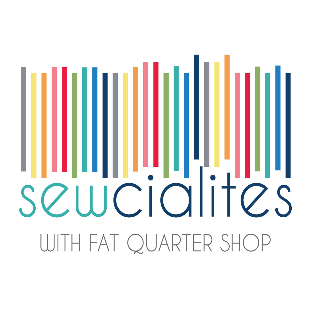 Sewcialites Quilt Along from Fat Quarter Shop